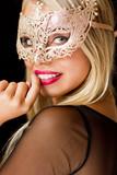 Beautiful mysterious blond. - 183468777