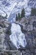 Kuiguk waterfall landscape. Altai mountains - 183477351