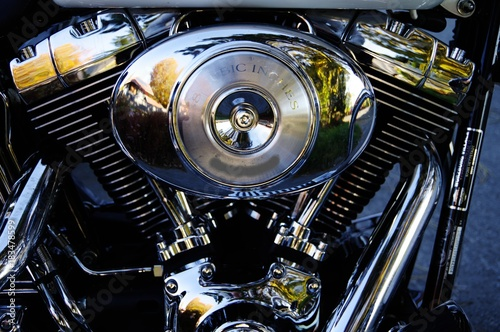 Tuinposter Fiets Motorrad-Motor ( Serie 12-teilig )