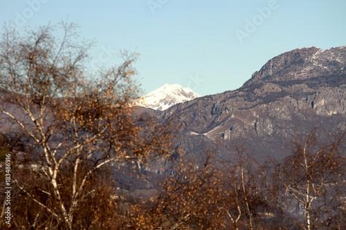 In de dag Grijs landscape montagna valle imagna bergamo