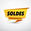 Soldes étiquette jaune - 183496157