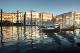 Grand Canal in Venice at sunset, Italy - 183518798