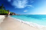 Anse Source d'Argent beach, La Digue island, Seyshelles - 183518939