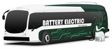 Electric bus - charging station - 183522741