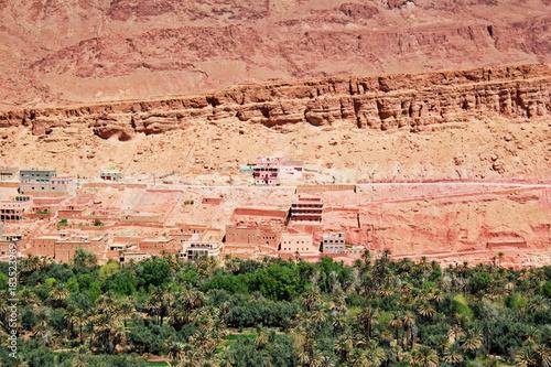 Fotobehang Marokko lines