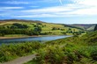 A scenic rural image,close to Ladybower reservoir in the English Peak District.