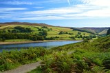 A scenic rural image,close to Ladybower reservoir in the English Peak District. - 183527348