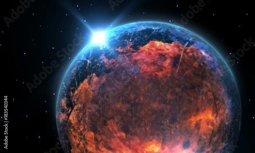 Alien Planet Galaxy