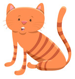 domestic cat cartoon animal character - 183542313