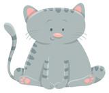 domestic cat cartoon character - 183542321