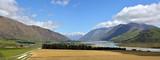 Head Waters of the Rangitata River Panorama New Zealand - 183546349