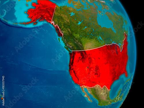 USA on Earth