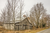 Nice Old Barn with Windmill - 183565970