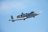Close view of an A-10 Thunderbolt II  - 183567333