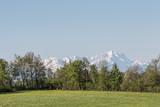 Landschaft bei Deining in Oberbayern - 183568996