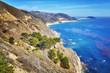 Quadro Coastline along the Pacific Coast Highway, California, USA.