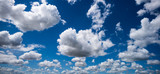 white clouds and blue sky - 183606539