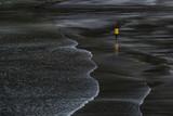 plage de sable noir volcanique aux ïle Féroé - Faroe Islands - 183606918