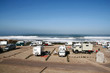 aire pour camping-car au bord de l'océan