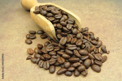 In de dag Koffiebonen café