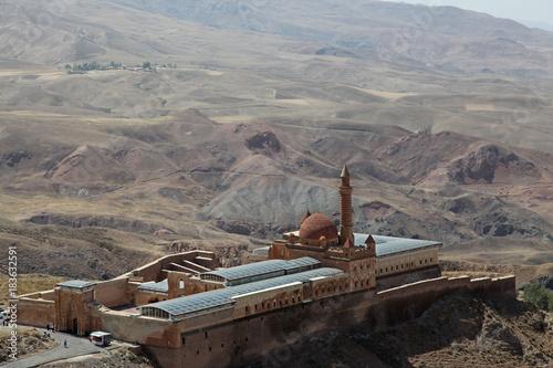 Foto op Canvas Donkergrijs east anatolia turkey isakpaşa palace doğubeyazıt