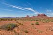 Scenic Monument Valley Landscape
