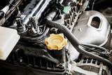 car engine close up - 183636524