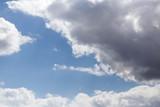 beautiful clouds on a blue sky