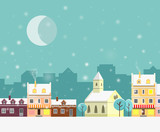 christmas at the city - 183639564