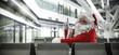 santa claus and airport