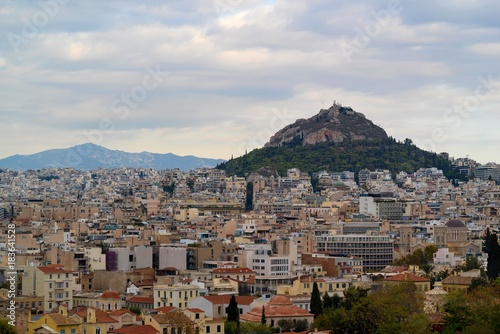 Staande foto Athene landscape of the city of Athens