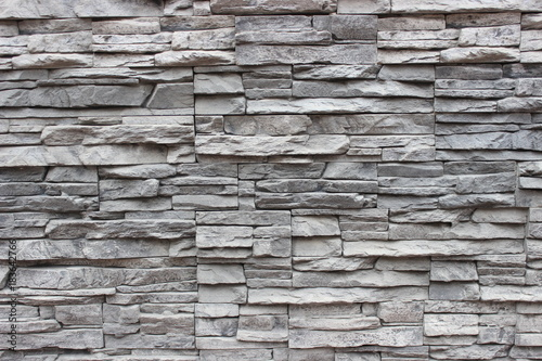 Fototapeta Grey surround stones, close-up, grunge texture, background