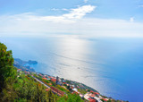 Positano town in Amalfi coast and Tyrrhenian sea - 183649749