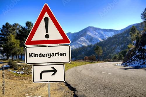 Schild 287 - Kindergarten