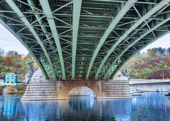 Eisenbrücke in Prag
