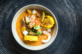Curry chicken in a bowl - 183666103