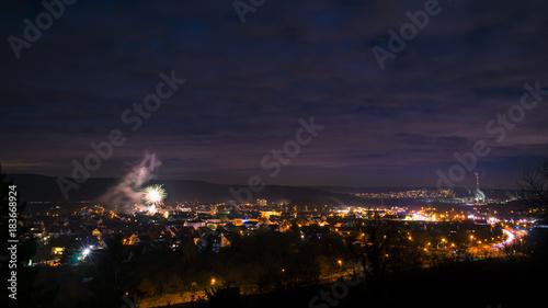 Feuerwerk in Erlenbach