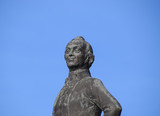 Monument to Suvorov. Monument to the great commander. - 183679529