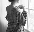 Woman lifestyle fashion shoot