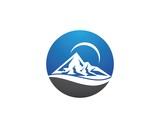 Mountains Logo Template - 183708972