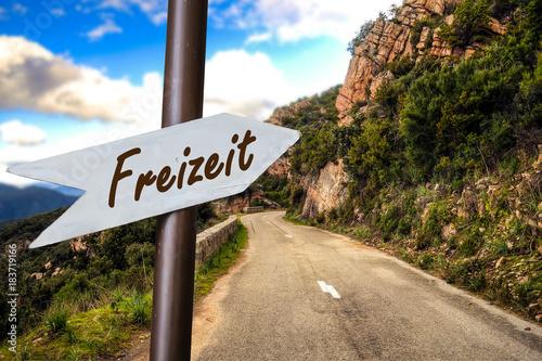Schild 253 - Freizeit