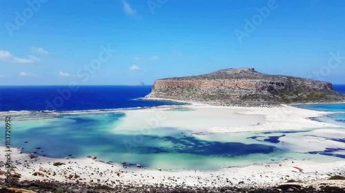 Balos Lagoon, Crete (4k UHD)