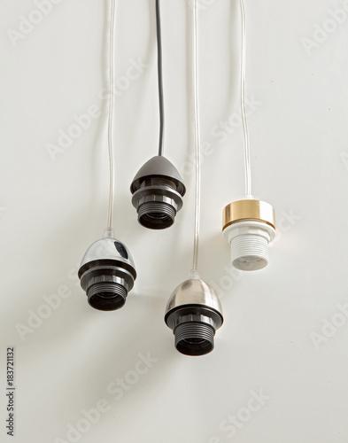Lamp holder Poster