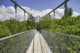 Suspension bridge in Collinwood, Ontario - 183721592
