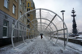 Embankment in Moscow - 183730746
