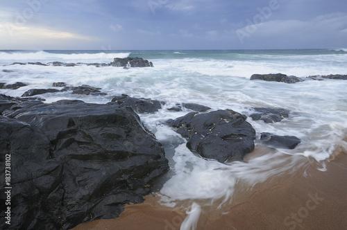 Seascape in KwaZulu Natal, South Africa