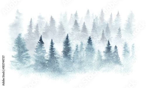 winter-forest-in-a-fog-painted-in-watercolor