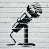 Graffiti, microphone - 183745989