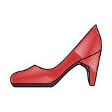 elegant heel female icon vector illustration design - 183749175