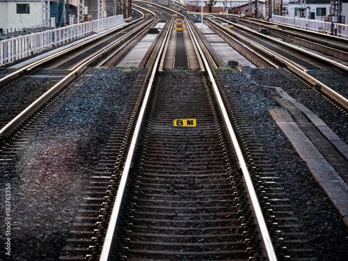 Foto op Plexiglas Spoorlijn 線路